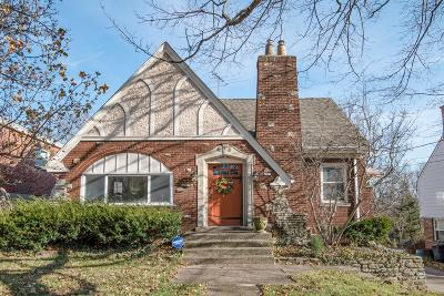 Cincinnati Single Family Home For Sale: 1950 Sutton Avenue
