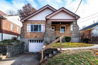 Cincinnati OH Single Family Home For Sale: $135,000