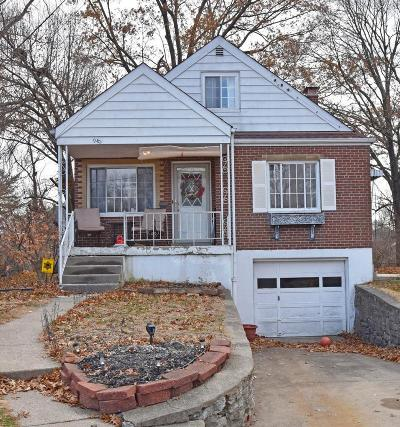 Cincinnati OH Single Family Home For Sale: $116,900