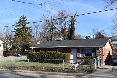 Cincinnati OH Single Family Home For Sale: $69,900