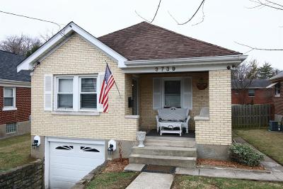 Cincinnati OH Single Family Home For Sale: $174,900