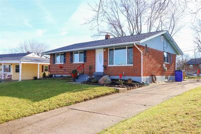 Hamilton County, Butler County, Warren County, Clermont County Single Family Home For Sale: 670 Waverly Drive