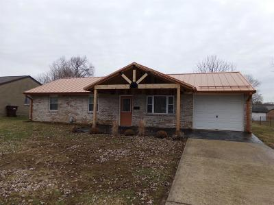 Preble County Single Family Home For Sale: 105 Terry Court