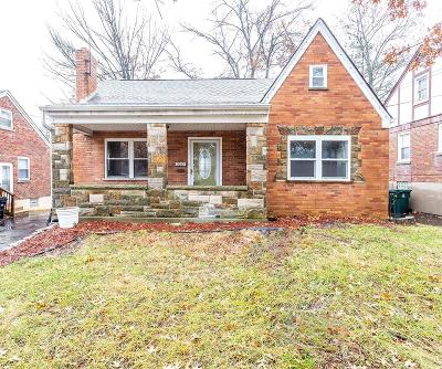 Cincinnati OH Single Family Home For Sale: $159,900