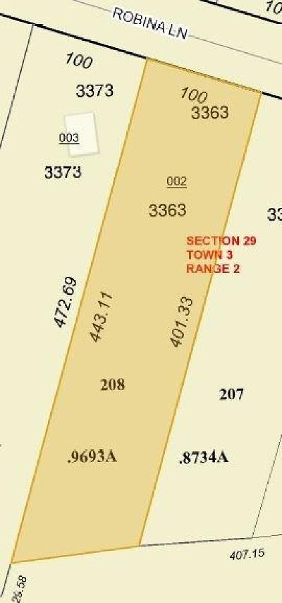 Ross Twp Residential Lots & Land For Sale: 3363 Robina Lane #RT208