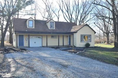 Brown County Single Family Home For Sale: 1304 New Harmony Square Road