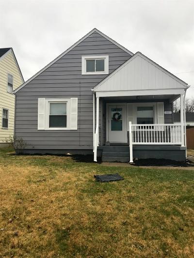 Hamilton Single Family Home For Sale: 741 Coralie Street