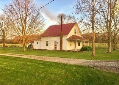 Adams County, Brown County, Clinton County, Highland County Single Family Home For Sale: 13532 St Rt 136