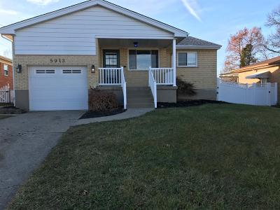 Green Twp Single Family Home For Sale: 5913 Cottontail Court