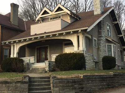 Cincinnati Single Family Home For Sale: 1536 Donaldson Place