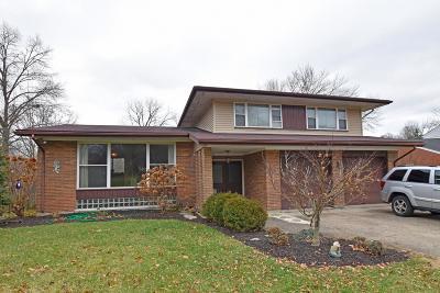Cincinnati Single Family Home For Sale: 3014 Picwood Drive