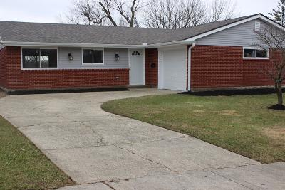 Sharonville Single Family Home For Sale: 4027 Haverstraw Drive