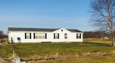 Adams County, Brown County, Clinton County, Highland County Single Family Home For Sale: 2877 Bardwell West Road