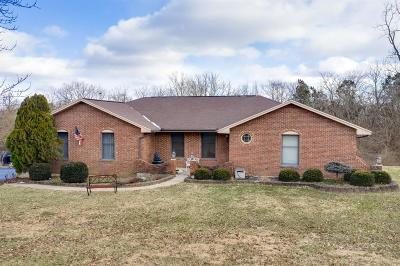 Warren County Single Family Home For Sale: 6170 Red Lion Five Points Road