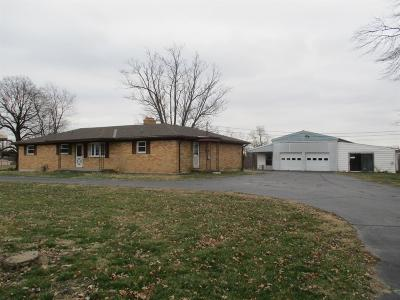 Lawrenceburg IN Single Family Home For Sale: $219,900