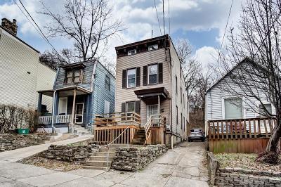 Cincinnati Single Family Home For Sale: 2208 Ravine Street