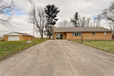 Adams County, Brown County, Clinton County, Highland County Single Family Home For Sale: 4125 Graybill Road
