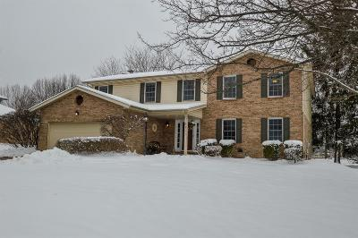 West Chester Single Family Home For Sale: 8351 Colonial Mill Manor