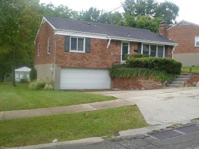 Cincinnati OH Single Family Home For Sale: $118,900
