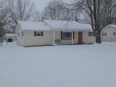 Blanchester OH Single Family Home For Sale: $124,900