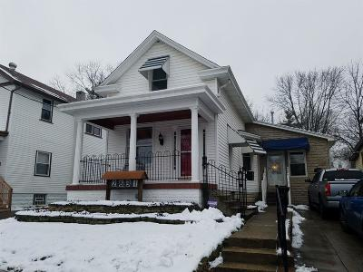 Cincinnati Single Family Home For Sale: 2631 Grover Hill Avenue