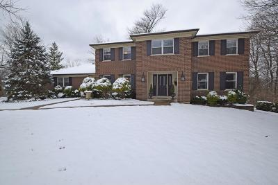 Cincinnati Single Family Home For Sale: 2871 Deerhaven Drive