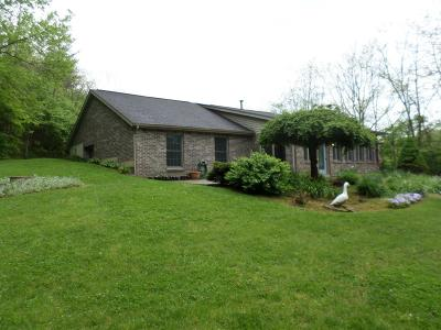 Hamilton County, Butler County, Warren County, Clermont County Single Family Home For Sale: 5535 Olive Branch Road