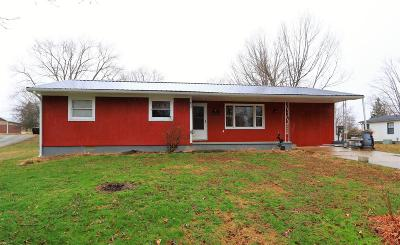 Adams County, Brown County, Clinton County, Highland County Single Family Home For Sale: 150 Watts Street