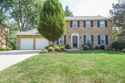 Single Family Home For Sale: 9542 Heather Court