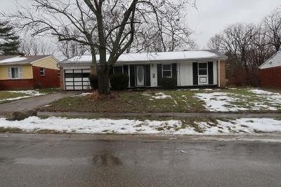 Hamilton County Single Family Home For Sale: 10943 Maplehill Drive