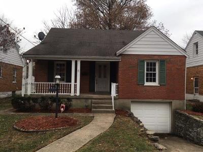 Hamilton County Single Family Home For Sale: 6937 Gloria Drive