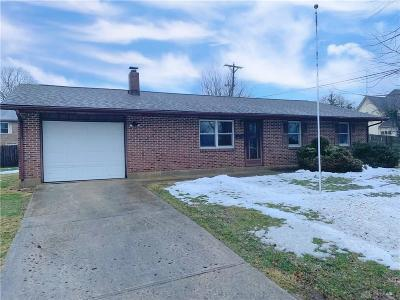Preble County Single Family Home For Sale: 112 Debbie Drive