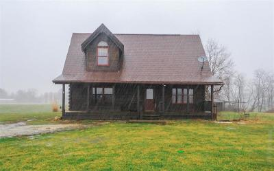 Milan Single Family Home For Sale: 8254 N Spades Road
