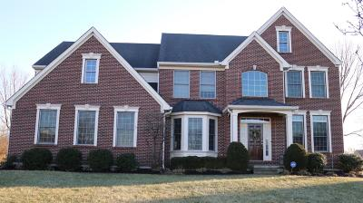 Deerfield Twp. Single Family Home For Sale: 3918 The Ridings