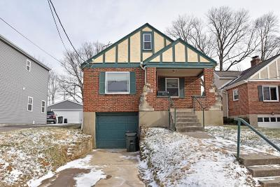 Single Family Home For Sale: 3872 Belmont Street