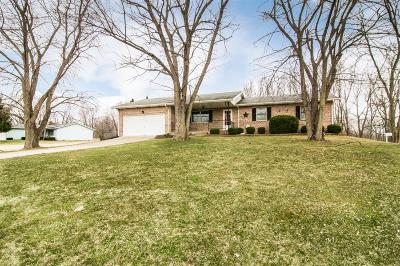 Preble County Single Family Home For Sale: 129 Thunder Drive