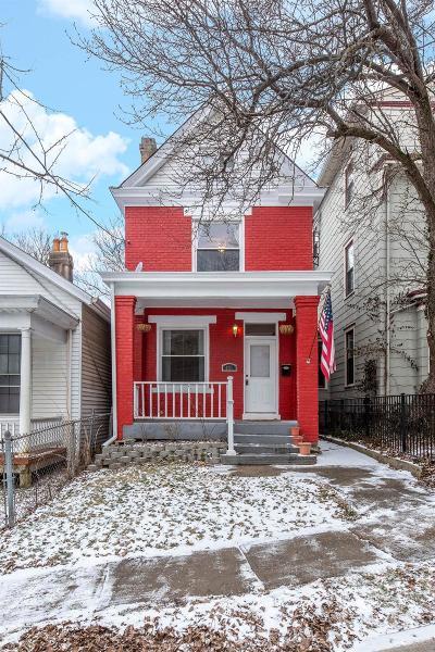 Cincinnati Single Family Home For Sale: 431 McDowell Street