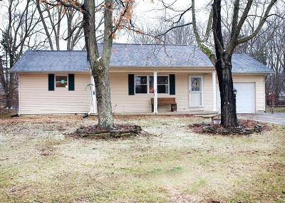 Blanchester OH Single Family Home For Sale: $126,500