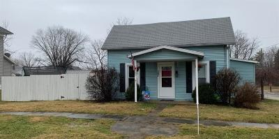 Wilmington OH Single Family Home For Sale: $72,500