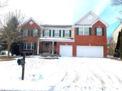 Mason Single Family Home For Sale: 6885 Summer Field Drive