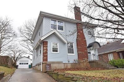Cincinnati Single Family Home For Sale: 5734 Doerger Lane
