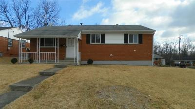 Colerain Twp Single Family Home For Sale: 10230 October Drive