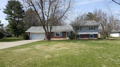 Preble County Single Family Home For Sale: 10181 Camden College Corner Road