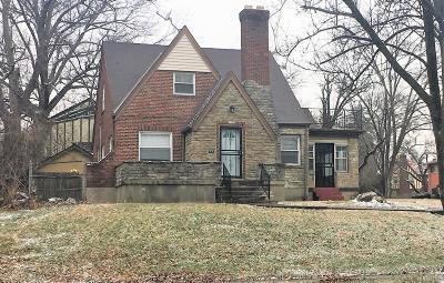 Cincinnati Single Family Home For Sale: 7255 Reading Road