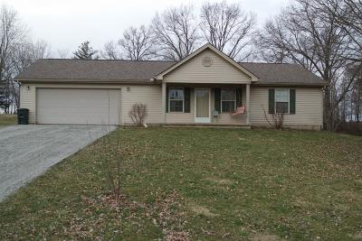 Vernon Twp OH Single Family Home For Sale: $169,000