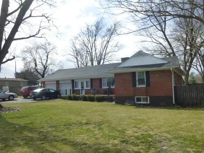Martinsville OH Single Family Home For Sale: $129,900