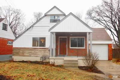 Cincinnati Single Family Home For Sale: 5005 Cleves Warsaw Pike