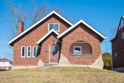 Cincinnati Single Family Home For Sale: 1802 Catalina Avenue