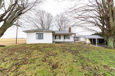 Wayne Twp OH Single Family Home For Sale: $82,500