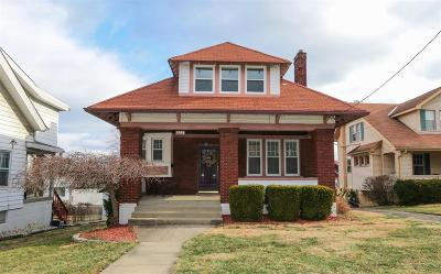 Hamilton County, Butler County, Warren County, Clermont County Single Family Home For Sale: 2508 Sheridan Drive